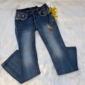 Miss Me Chloe Mid Rise Boot Jeans| 28x34